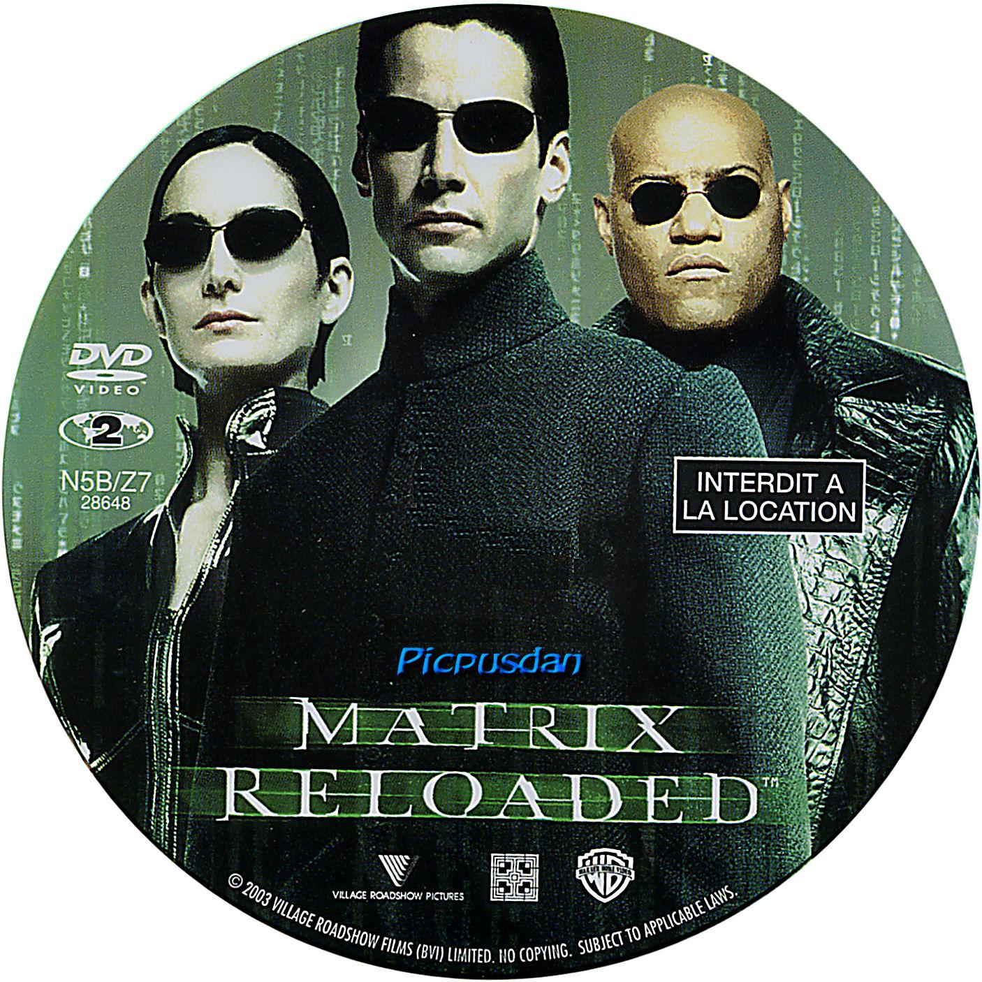 matrix revolution affiche